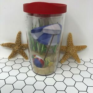 Tervis Beach Adirondack Lounge Chair Tumbler Cup Keeps Drinks Hot & Cold Ball