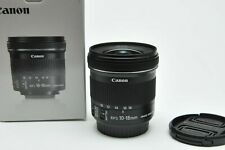 Canon EF-S 10-18mm f/4.5-5.6 IS STM Ultra-Wide Angle Lens