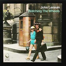 Original Vintage Picture Sleeeve Only John Lennon Watching The Wheels 1981 Nmint