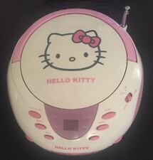Hello Kitty CD Radio Player
