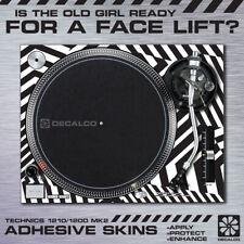 Technics SL1210 / SL1200 Mk2 - Turntable Sticker Skin Wrap - Various Designs