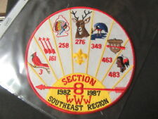SE-8 Section 1987 5th Anniversary Jacket Patch,   mc19