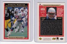 Curtis Martin Cards, 2 1995/96 UD Collector's Choice AFC Rushing Leader &ROTY!