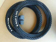 NEW 16x2.125 Kenda K-Rad Street kids BMX Bicycle tires and tubes