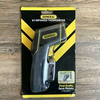 NEW GENERAL Laser Temperature Non-Contact Infrared Thermometer 8:1