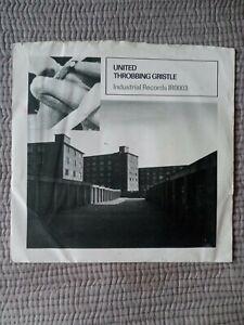 Throbbing Gristle United 7 Inch Single