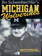 Bo Schembechler's Michigan Wolverines DVD, NEW! Football College Sports Bio