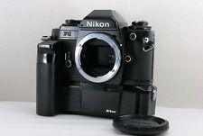 ** OTTIMO +++++ ** Nikon FG Black Body w/MD-14 MOTOR DRIVE dal Giappone