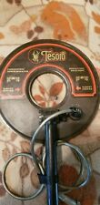 """Used Tesoro 8"""" Round Concentric Search Coil With Lower Shaft 5 Pin"""