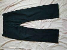 "MENS M&S BLACK BOOTCUT JEANS SIZE 40"" WAIST 32"" LEG"
