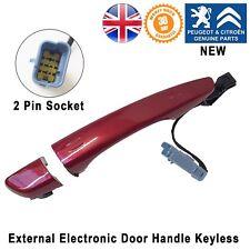 Citroen C4 Picasso DS5 Dispatch Exterior Door Handle Keyless Right Rear New Red