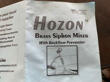 Hozon Brass Siphon Mixer Great For Vegetables Production New