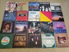 Lot Of 20 Classic Rock Pop Soft Rock vinyl record albums