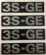 Toyota 3SGE Timing Belt Cover Decal Sticker MR2 Celica IS200