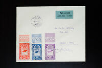 Ethiopia 1931 Cover to Nebraska with 3 Air Mail Stamps