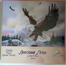 "Spacious Skys by Larry K. Martin, 1,500 Piece Jigsaw Puzzle, 24"" x 33"" Brand New"