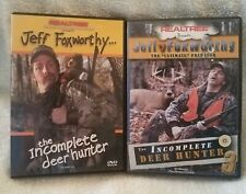 Realtree Presents Jeff Foxworthy The Incomplete Deer Hunter 1&3 Dvd Lot