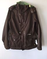Burton Chopper Jacket Storm Lite Snow Ski Snowboard Jacket Lined Brown Women's M