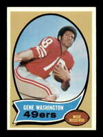1970 Topps #81 Gene Washington NM/NM+ RC Rookie 49ers 503853