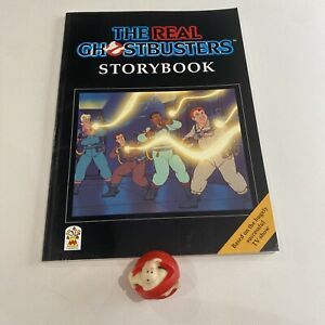 The Real Ghostbusters Storybook & 1984 LJN Ghost Squirter Columbia Pictures