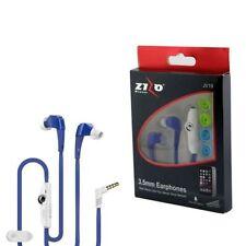 Auriculares azul para teléfonos móviles y PDAs Samsung