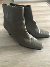 Lotus Light Brown Real Leather Ankle Boots Size 8