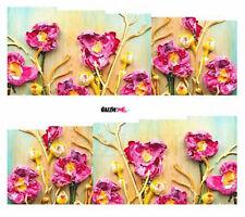 Etiqueta engomada de Arte en Uñas Transferencias de calcomanías de Agua Arte decorativo flores floral (DC272)