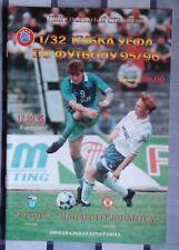 Programs Rotor Volgograd - Manchester United 1995