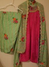 Brand New Punjabi suit patiala salwar suit gota patti embroidery suit