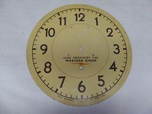 Self Winding Clock Company Dial.