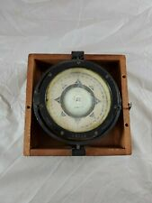 ES Ritchie & Sons Boston Antique U.S. Navy Ships Compass 6 Inches Wide (97065)