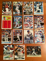 CODY BELLINGER Base, Rookie Cup, Chrome, Inserts - 15 Card Lot