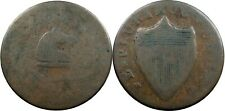 1787 New Jersey Copper, Maris 38-a, RARITY-5 VARIETY, great color, VG/Fine+