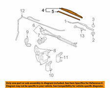 Wiper blade front Right Chevrolet Venture 97 - 05 GM OEM 10329206