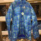 New Foursquare PJ Regatta Blue Snowboard Jacket - Men's Size Medium
