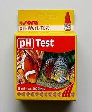 Sera pH Test  für Süß- und Meerwasser Wassertest