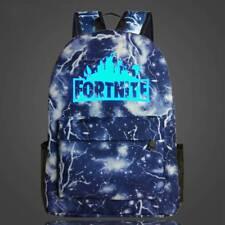 20 L Fortnite Battle Royale Backpack Rucksack School Bag Glow in Dark Boys Girls Thunder Blue