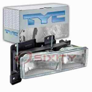 TYC Right Headlight Assembly for 1988-2000 Chevrolet C2500 Electrical en