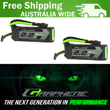 2200mAh 3S 75C Turnigy Graphene Panther LiPo Battery Racing RC Jets Drones 2PACK