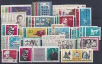 DDR Jahrgang 1962 , postfrisch , Auswahl aus Michel Nr. 869 - 933