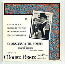 PERRIN Robert 45T EP PONT-AVEN BRETONES Th BOTREL BREIZ