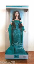 2002 Birthstone Barbie May Emerald NRFB (Z145)
