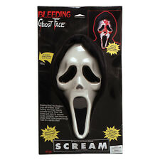 Sangrado Scream Máscara Ghost Face Halloween Vestido De Lujo