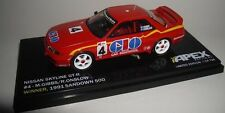 1:43 Apex - 1991 Sandown 500 - Nissan GT-R - Gibbs/Onslow LE 526 Made NEW IN BOX