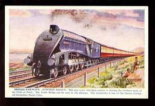 British Railways Scottish Region A4 #60009 Aberdeen Exp. artist A Anderson PPC