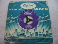 Vinyl7inch Nat King Cole Fantastico Dänemark Press 60er gut