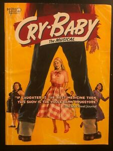 CRY-BABY Broadway Souvenir Program – James Snyder, Elizabeth Stanley