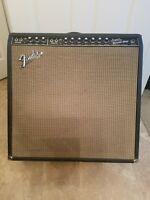 1966 Fender Super Reverb Vintage Blackface Tube Amp 4x10 Vintage Jensen Speakers