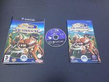 JEU Nintendo GameCube HARRY POTTER COUPE DU MONDE DE QUIDDITCH (complet, suivi)