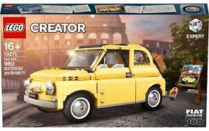 10271 LEGO CREATOR FIAT 500 960 PZ 16+ ANNI NUOVO ORIGINALE